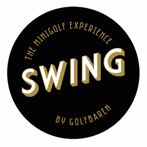 Swing by Golfbaren logga