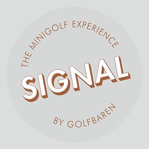 Golfbaren signal logga